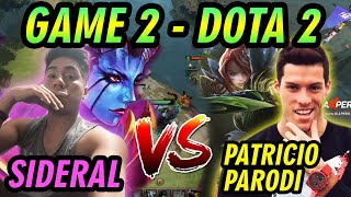 [GAME 2] SIDERAL [QOP]+(STAFF BARRIOFINO) / VS / PATRICIO PARODI [WINDRUNNER]+(PATO ARMY) - DOTA 2