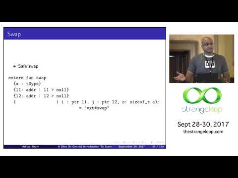 """""""A (Not So Gentle) Introduction To Systems Programming In ATS"""" by Aditya Siram"""