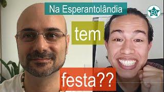 Tem Festa na Esperantolândia? #30 Conversa Fernando Shayani | Esperanto do ZERO!