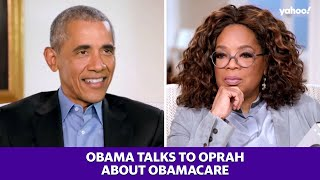 Obama talks to Oprah about the Affordable Care Act