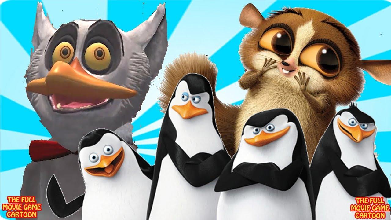 Pinguine Von Madagaskar