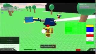 Laser tanks madness at ROBLOX
