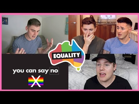 GAY AUSTRALIAN YOUTUBERS REACT TO ANTI-GAY MARRIAGE COMMERCIAL