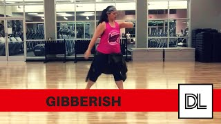 Gibberish by MAX || Original cardio/leg routine for dance fitness, hip hop, or zumba class