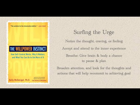 "Friday, Performance Tip, ""Surfing the Urge"""