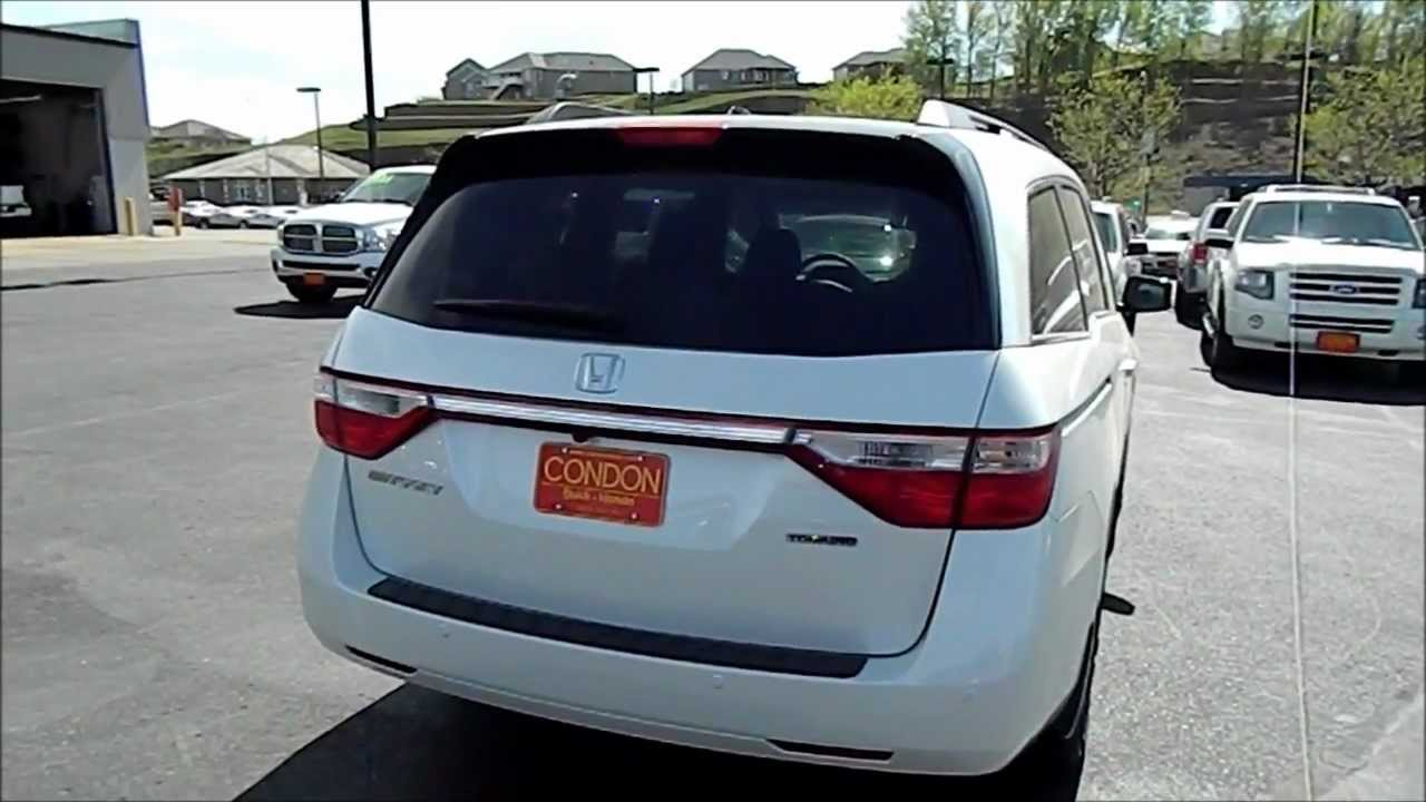 2012 Honda Odyssey Touring Elite - Sioux City, IA - Condon Auto Sales - #31912 - YouTube