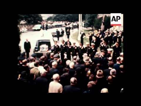 FUNERAL OF DWIGHT D. EISENHOWER    - COLOUR - SOUND