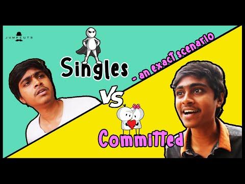 Singles vs Committed - an exact scenario
