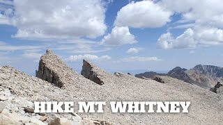 Mt Whitney Hike VISIT HIKINGGUY.COM FOR ALL THE HIKE INFO. The Mt Whitney hike is