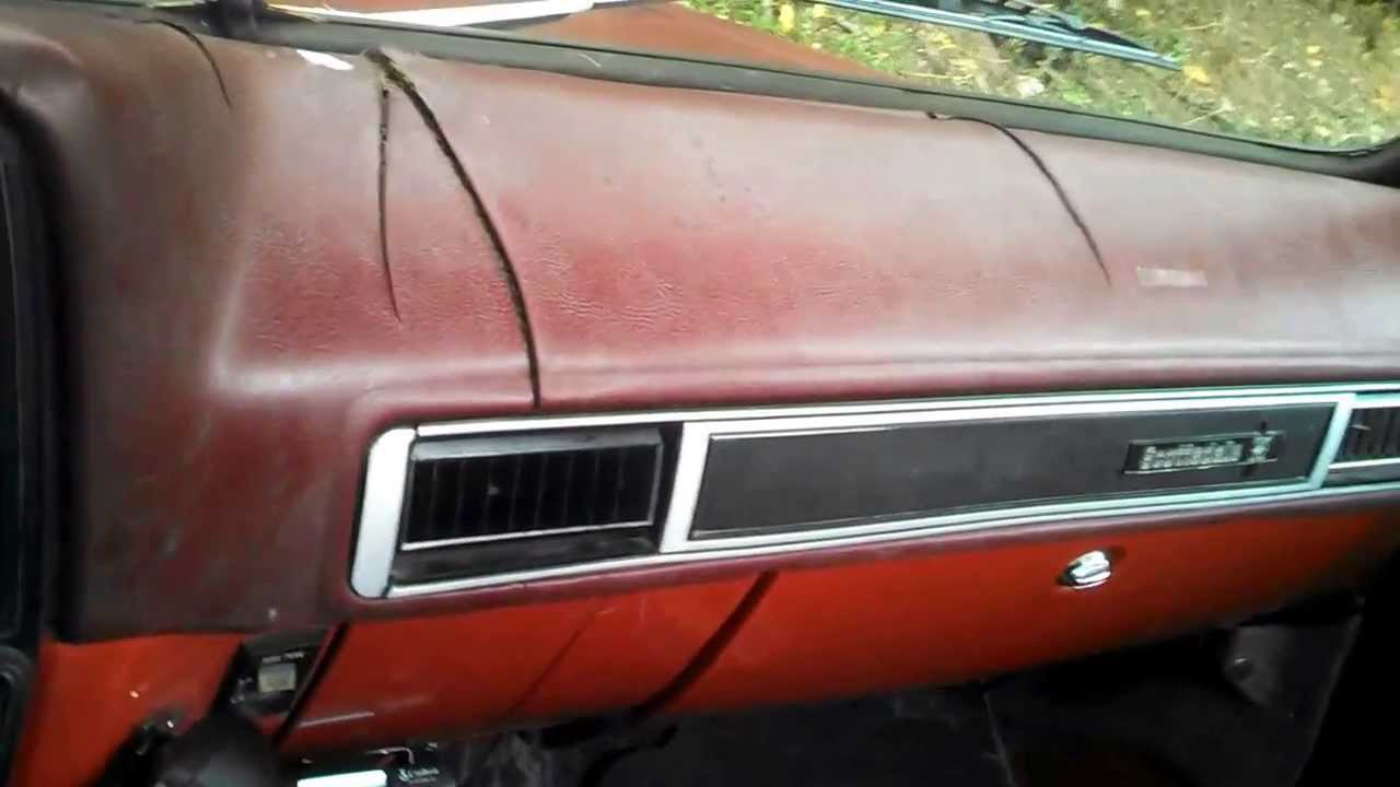 83 Chevy Truck Dash Pad -  79 chevy c10 scottsdale update dash put back together youtube