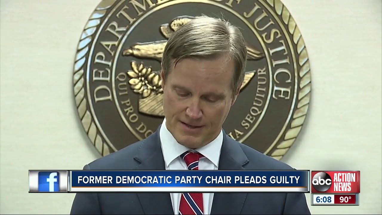 Former chair of Fla. Democrats & aide plead guilty to corruption charges