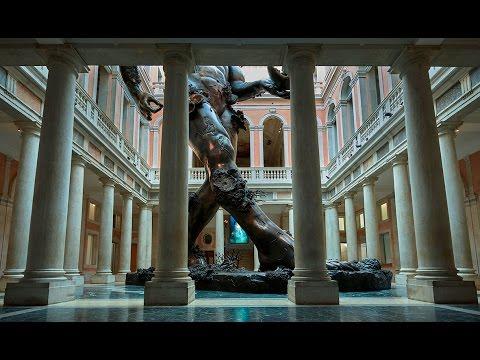 "Timelapse - ""Demon with Bowl (Exhibition Enlargement)"", Damien Hirst"