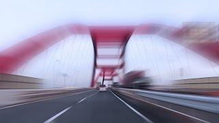 [drive Japan]hanshin Expressway(wangan Route Kobe-osaka 阪神高速) Part.0