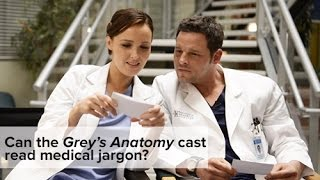 Grey's Anatomy: How Well Does the Cast Know Medical Jargon? thumbnail