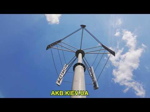 Ветрогенераторы с вертикальной осью вращения 1квт своими руками