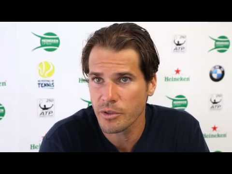 Tommy Haas Talks About Preparing For His 2014 Season