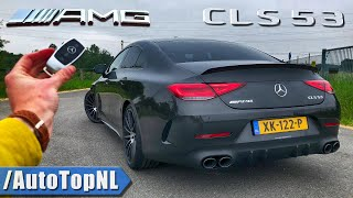 NEW! Mercedes AMG CLS 53 4Matic+ REVIEW on AUTOBAHN & ROAD by AutoTopNL