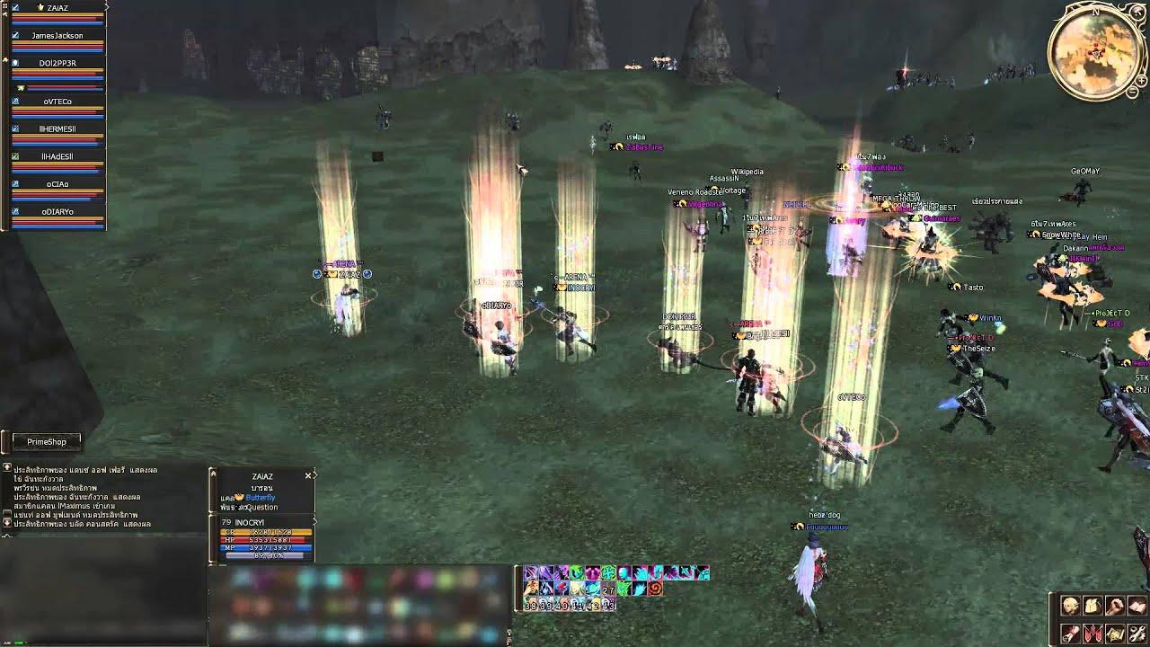 l2 Boss//Barakiel  Guild dytines Guild butterfly Guild RiseofAbyss SV.l2 Virus V.2 , YouTube