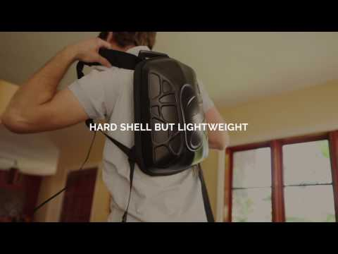 Explore the Features of the TRAKK Shell Weatherproof Bluetooth Speaker & Power Charging Backpack