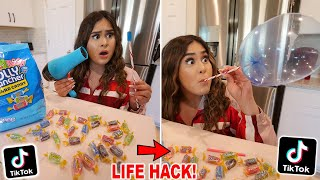 We TESTED Viral TikTok Life Hacks!  **they actually work** PART 10