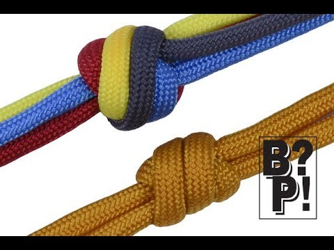 Matthew Walker Knot - 2 & 4 Strand Versions with Paracord - The easy way -  BoredParacord com