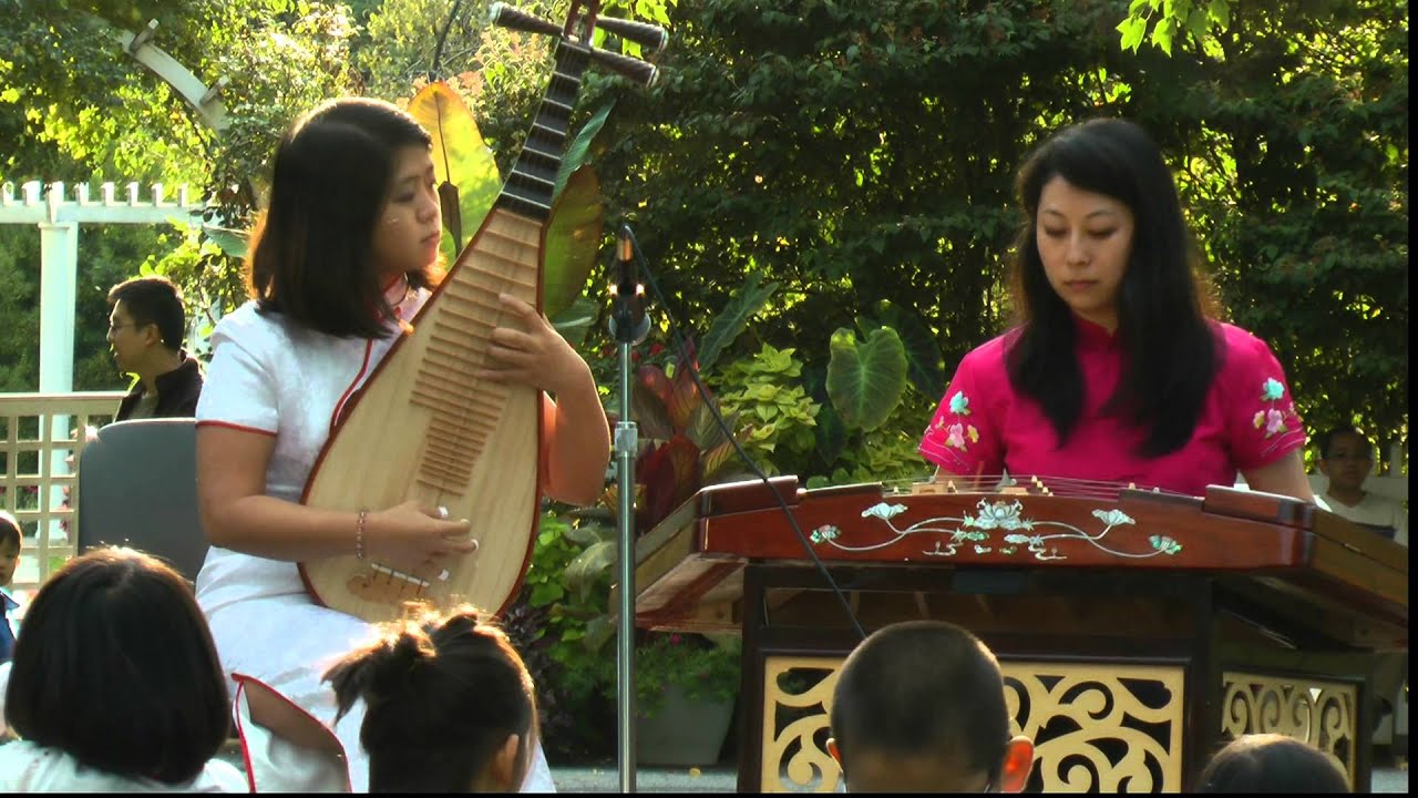 traditional chinese music autumn moon festival 2012 nyccc