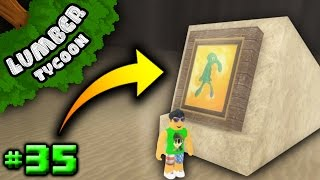 Lumber Tycoon Ep. 35: How to Get SUPER RARE Painting! | Roblox