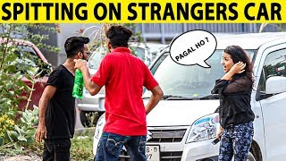 Spitting on Strangers Car Prank in Pakistan - Lahori PrankStar