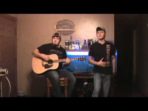 Cole Swindell-Just Chillin' It (cover) by Tyler and Travis Knipp