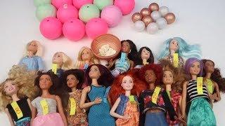 Barbie Kombin Challenge Lol Toplarından Ne Çıkarsa Çok Konuşmadan Barbie Giydirme :) Bidünya Oyuncak