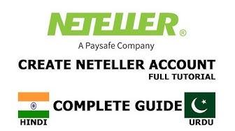 Create Neteller Account in [Hindi/Urdu] 2017-2018 Full Tutorial