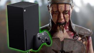 XBOX SERIES X - Novo xbox, o console mais poderoso da Microsoft, Hellblade 2, memes e minha opinião!