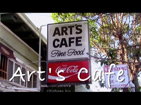 Where to Eat Breakfast in San Francisco - Art's Cafe Video (HD)