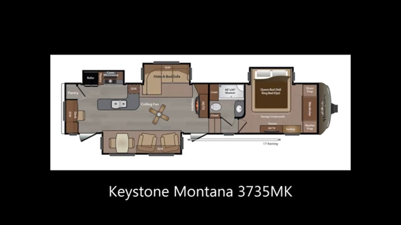 Montana Fifth Wheel Floor Plans