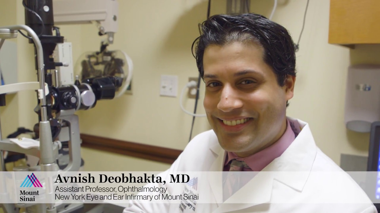 Avnish Deobhakta, MD: Advanced Treatments for Retinal Detachments at New York Eye and Ear Infirmary