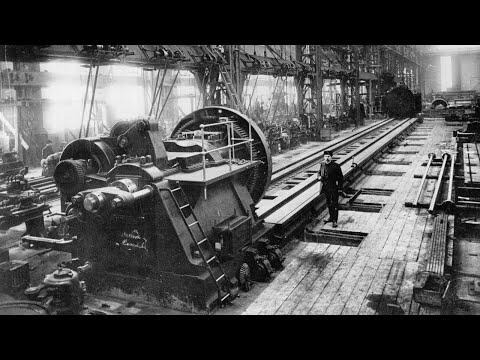 Утраченные технологии  допотопной цивилизации. Часть 1. Производство станков. Машиностроение. - видео онлайн