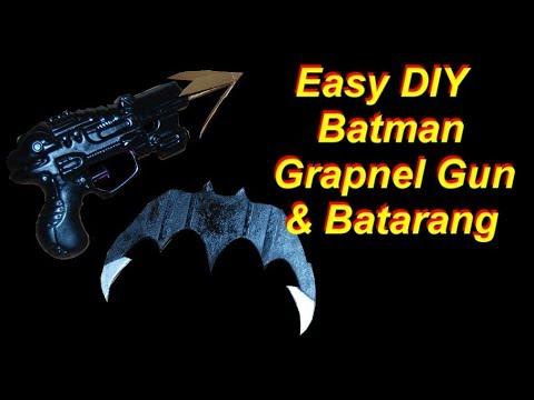 Justice League Movie Large Batman Costume Batarangs Weapons Prop 2 Piece Silver