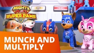 PAW Patrol | Munch and Multiply | Mighty Pups Toy Episode | PAW Patrol Official & Friends