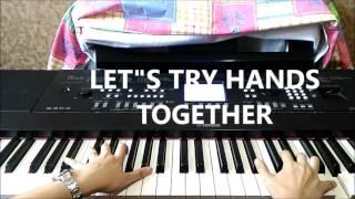 Piano Tutorial Cinta dan Rahasia (REFF)