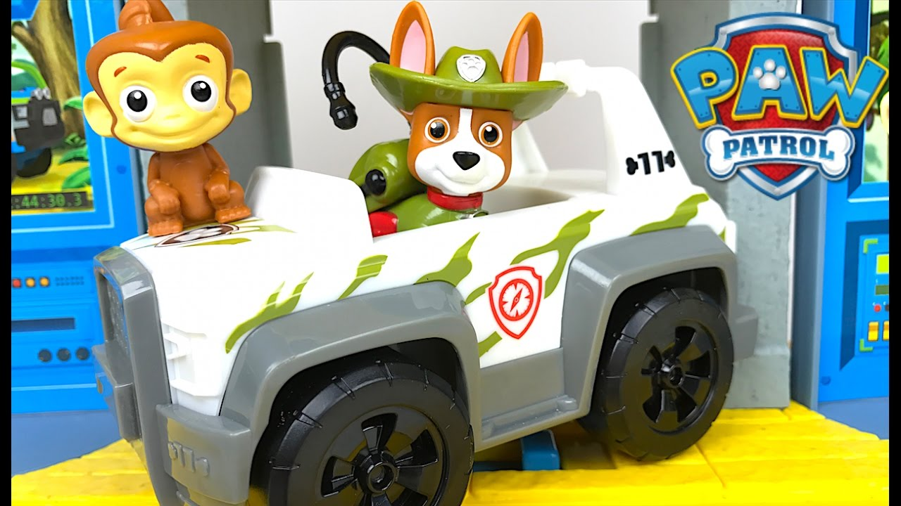 Paw Patrol Jungle Rescue Monkey Temple With Monkey Mandy
