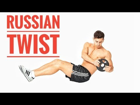 how to do Russian Twist exercise at home...