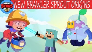 MINECRAFT in Brawl Stars Animation Compilation #20: JACKY NEW BRAWLER - SPROUT ORIGINS