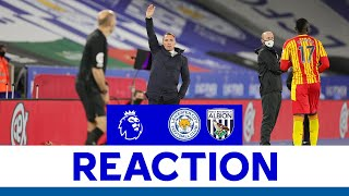 'Three Excellent Goals' - Brendan Rodgers   Leicester City 3 West Bromwich Albion 0