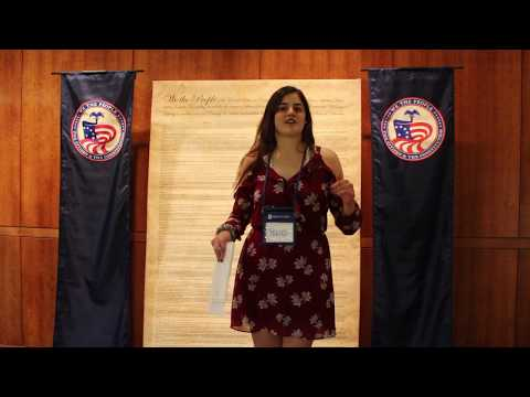 We the People National Finals- Boonsboro High School Maryland Student Interview