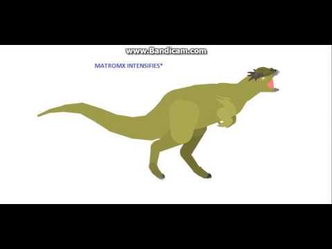 Rampy The Stygimoloch Vs. Stygimoloch stranger