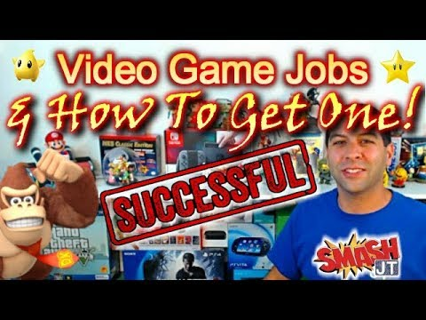 How To Get a Job In The Video Game Industry!