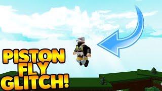 *NEW* PISTON FLY GLITCH! | Build A Boat For Treasure ROBLOX