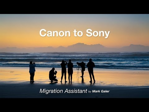 Moving From Canon To Sony : Migration Assistant
