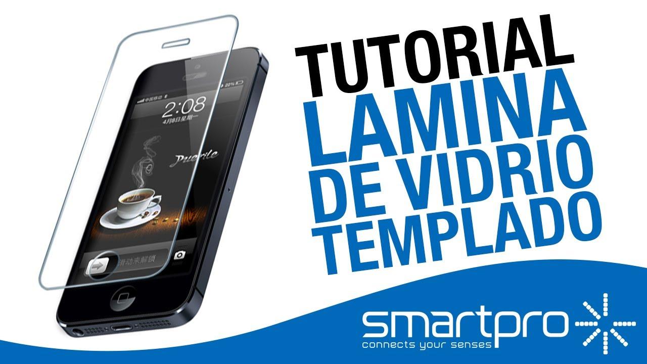99f06789e77 Mica de vidrio templado para proteger tu smartphone - Smartpro - YouTube