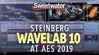 sweetwater at AES 2019  Steinberg WaveLab 10